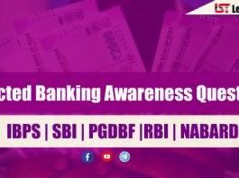 Expected Banking Awareness Questions for Dena Bank 2018