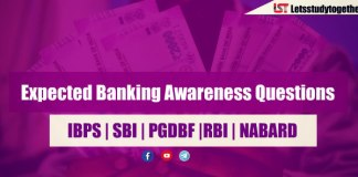 Expected Banking Awareness Questions