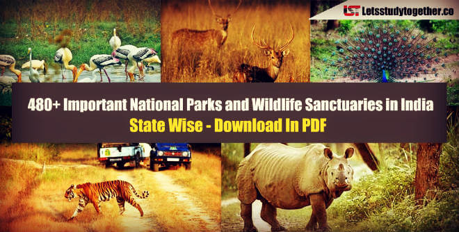 Important National Parks and Wildlife Sanctuaries in India