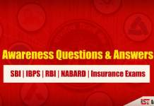 Banking Awareness Questions & Answers in Hindi | Set – 1