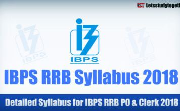 IBPS RRB Syllabus for Officer Scale 1 & Office Assistant 2018 – Check Here