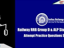 RRB Railway Group D & ALP Practice Questions Set | Day-13