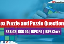 Box Puzzle and Puzzle Questions