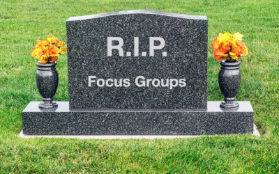 R.I.P. Focus Groups