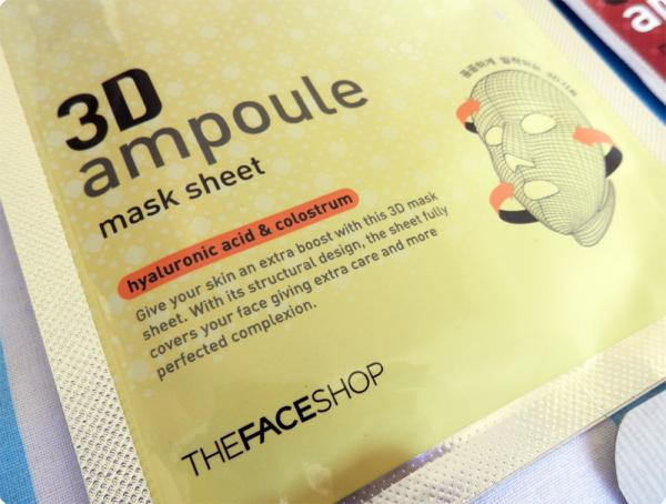 3D Ampoule Sheet Mask