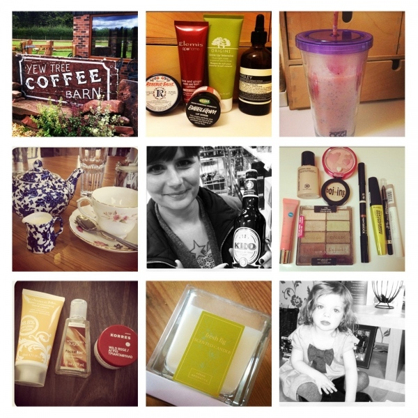Instagram Roundup September
