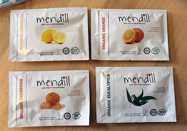Organic Mendill Towelettes