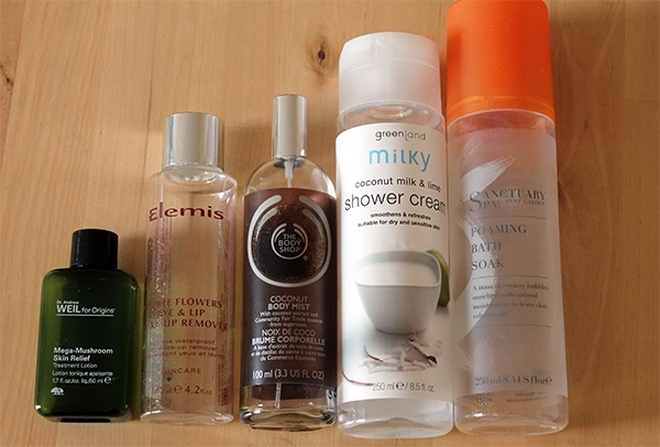 January Empties 2014