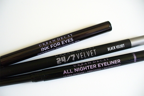 Urban Decay Black Eyeliners