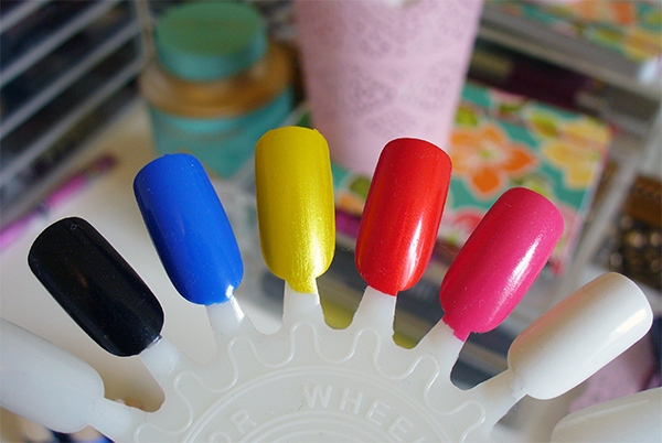 Bright Summer Nail Polishes