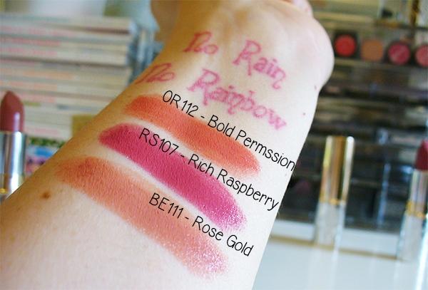 DHC Premium Lipstick Swatches
