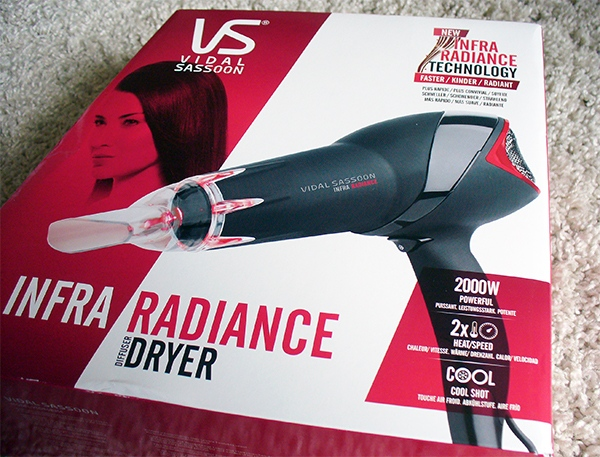 Vidal Sassoon Infra Radiance Dryer