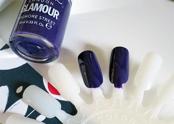 Nails Inc Polish for Glamour Magazine