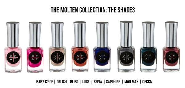 O.F.A.T The Molten Collection Polishes