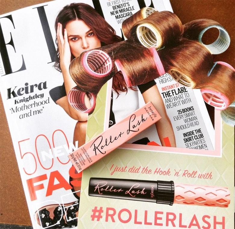 Elle Magazine Freebie Benefit Roller Lash