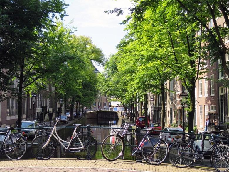 Amsterdam the city of bikes