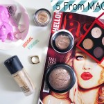 5 From MAC Cosmetics