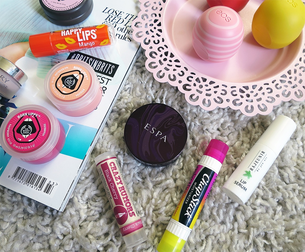 Current Favourite Lip Balms