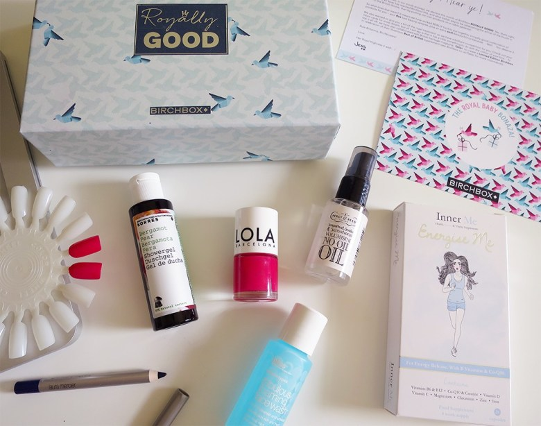 Royally Good Birchbox April 2015