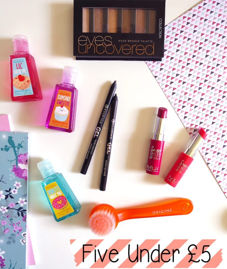 Five products under £5
