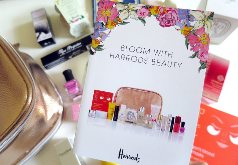 Bloom With Harrods Beauty Spring GWP