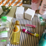June & July 2015 Product Empties