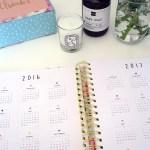 ban.do Florabunda 17 Month Agenda
