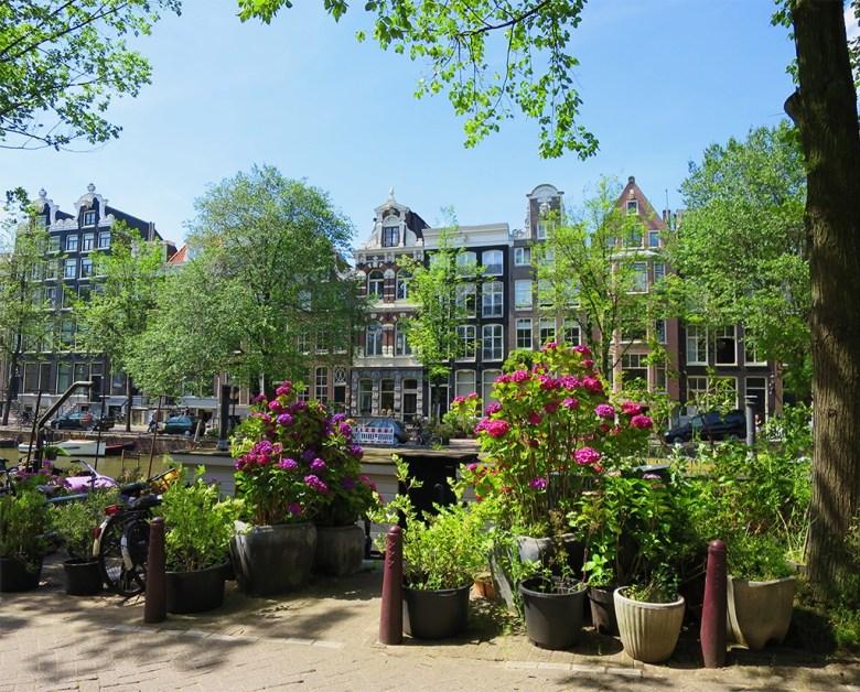 Amstel Canal Amsterdam