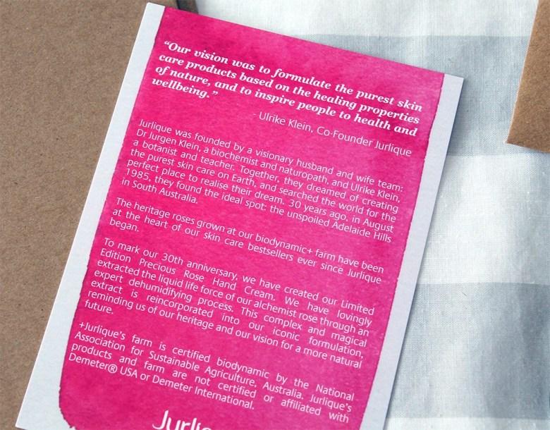 Australian Skincare Brand Jurlique