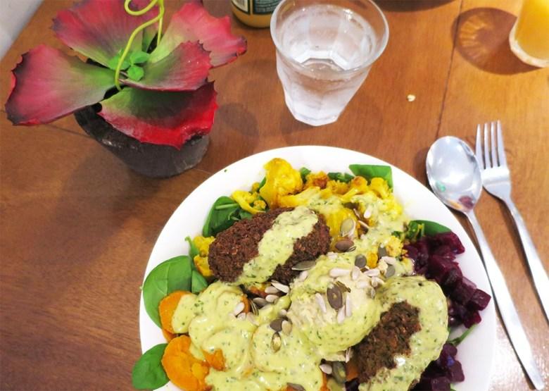 SLA Vegan Falafel Bowl