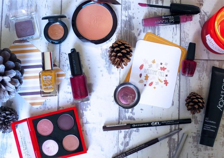 Autumnal Makeup Producs