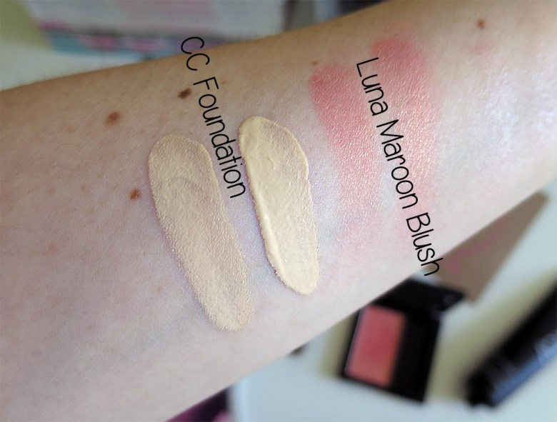 Glo & Ray Makeup Swatches
