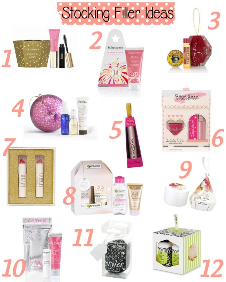 Beauty Products Stocking Filler Ideas
