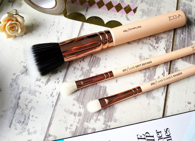 New Zoeva Rose Golden Brushes