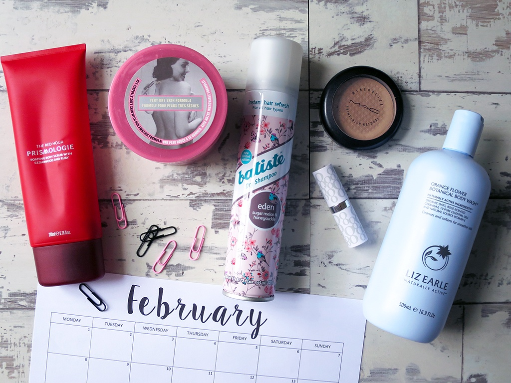 Product Empties Feb 2016