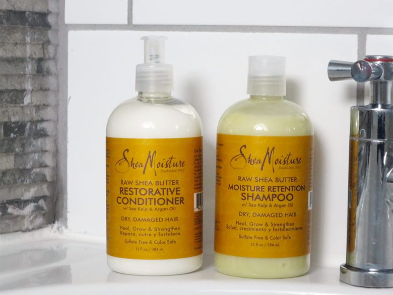Shea Moisture Shea Butter Shampoo and Conditioner