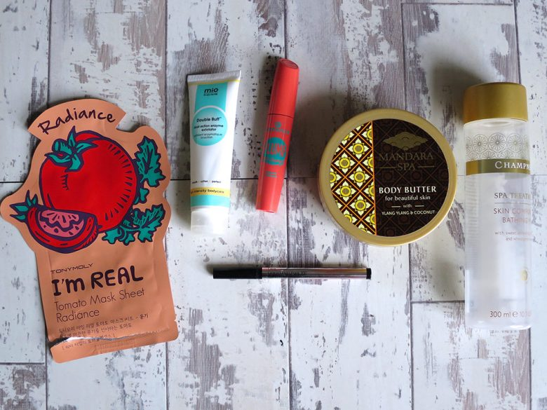 April Product Empties 2016