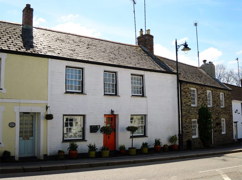 Highstreet Cottages Grampound Village