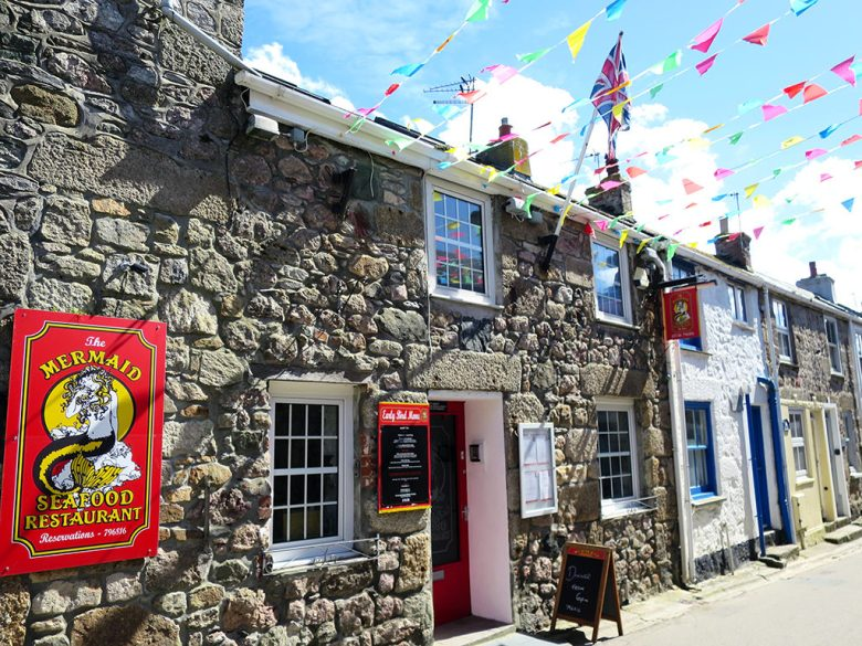 The Mermaid Seafood Restaraunt St Ives