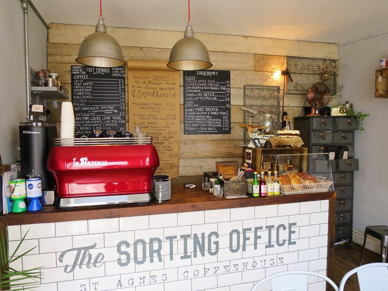 The Sorting Office Cafe in St Agnes