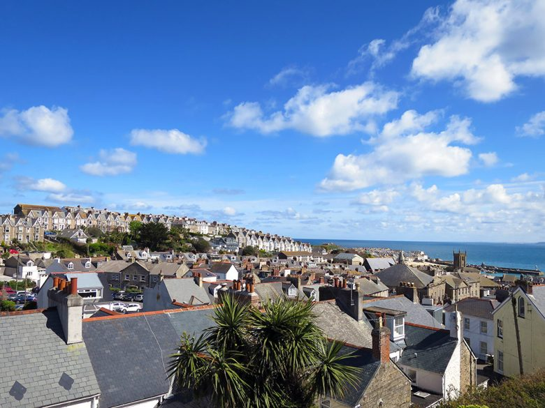 View Over St Ives Bay