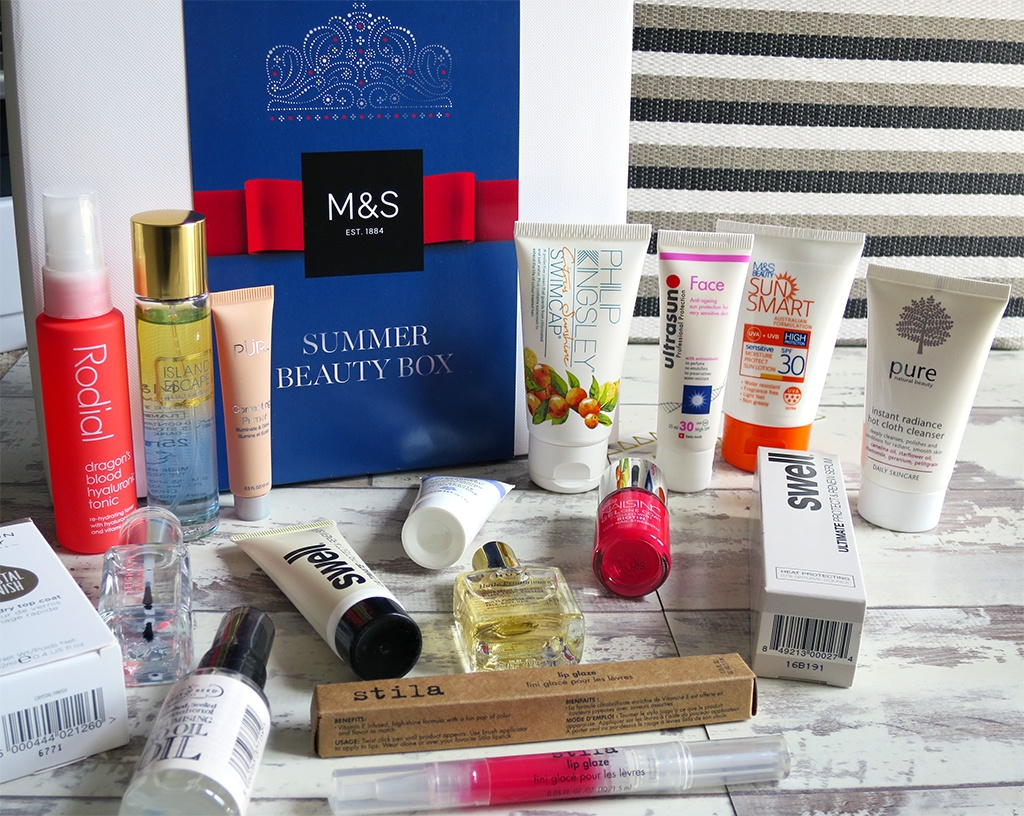 M&S Summer Beauty Box 2016