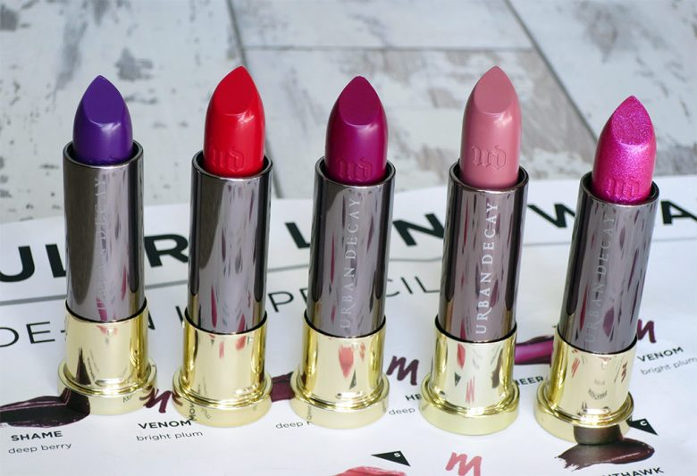 New Urban Decay Vice Lipstick-collection