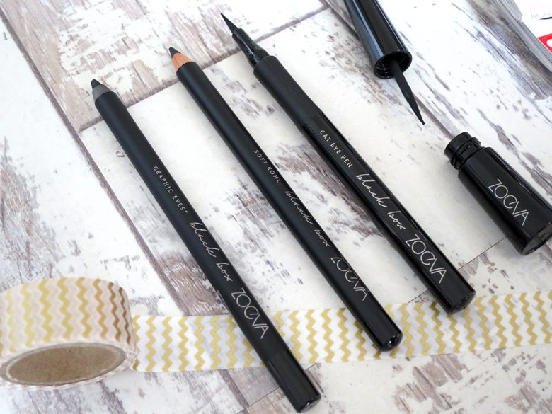 New Zoeva Black Box Eyeliner Collection