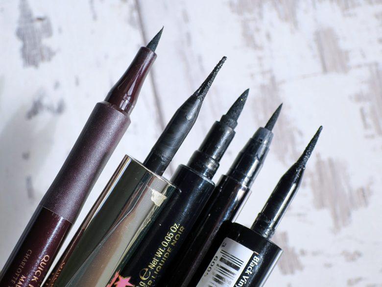 Black Liquid Eyeliner Pens
