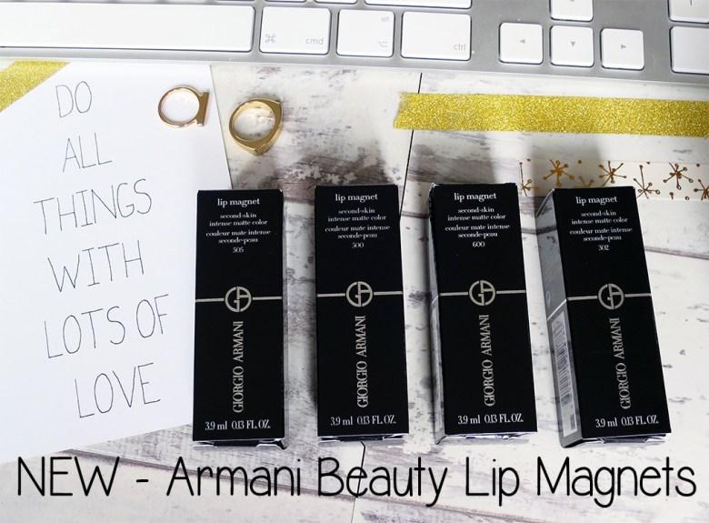 New Armani Beauty Lip Magnets