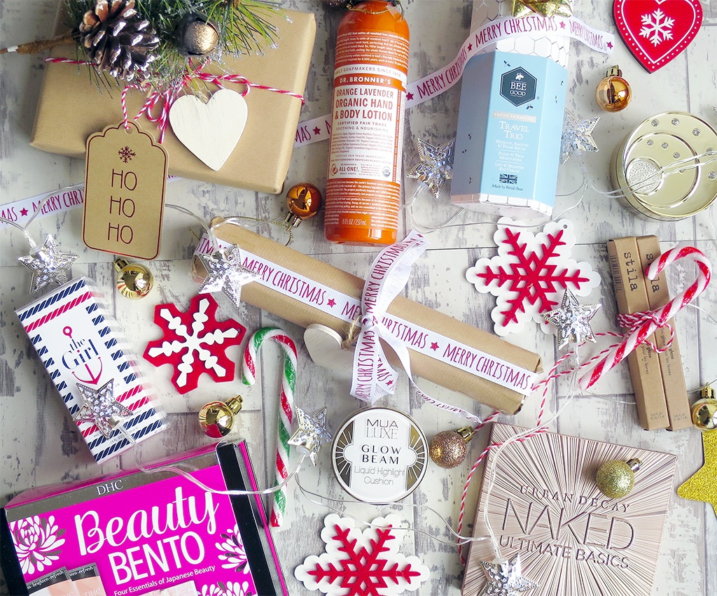 2016 Beauty Product Christmas Gift Guide
