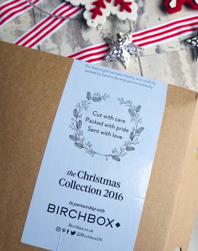 Christmas 2016 Birchbox with Bloom and Wild