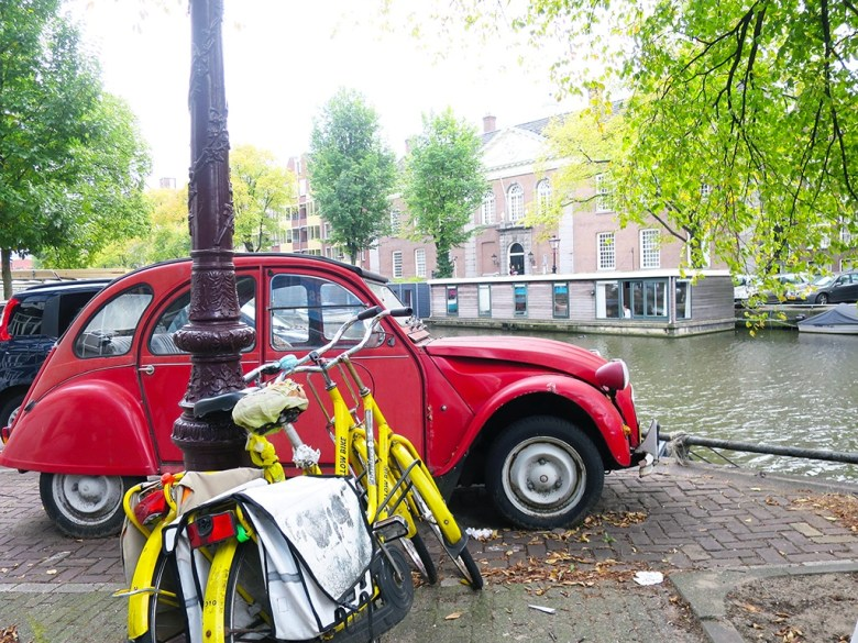 Red Citron Classic Car Amsterdam