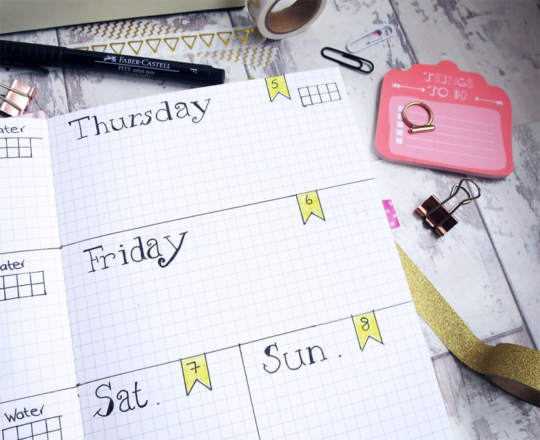 Bullet Journal Week To View